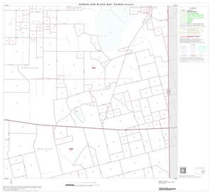 Primary view of object titled '2000 Census County Block Map: Gaines County, Block 8'.