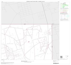 Primary view of object titled '2000 Census County Block Map: Crane County, Block 3'.
