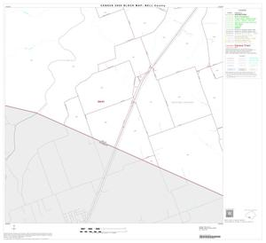 Primary view of object titled '2000 Census County Block Map: Bell County, Block 40'.