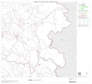 Primary view of object titled '2000 Census County Block Map: Newton County, Block 4'.