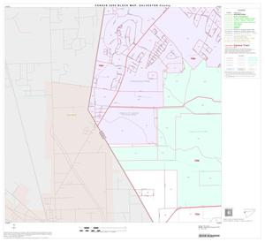 Primary view of object titled '2000 Census County Block Map: Galveston County, Block 14'.