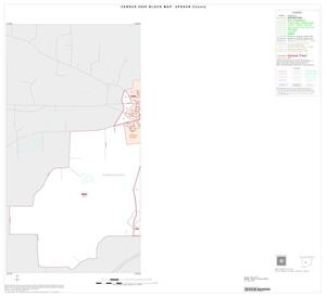 Primary view of object titled '2000 Census County Block Map: Upshur County, Inset C01'.