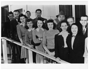 Primary view of object titled '[Employees at Consolidated Steel during World War II]'.