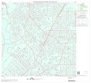 Primary view of object titled '2000 Census County Block Map: Dallas County, Block 37'.