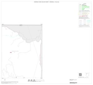 Primary view of object titled '2000 Census County Block Map: Kendall County, Inset A02'.
