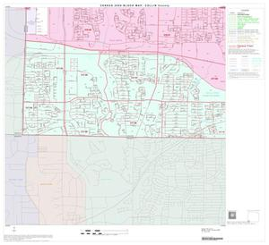 Primary view of object titled '2000 Census County Block Map: Collin County, Block 42'.
