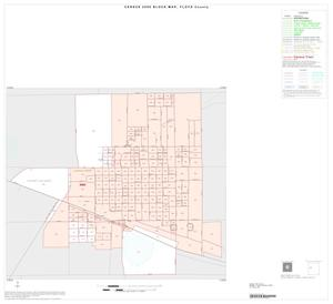 Primary view of object titled '2000 Census County Block Map: Floyd County, Inset A01'.
