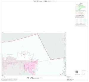 Primary view of object titled '2000 Census County Block Map: Hunt County, Inset K01'.
