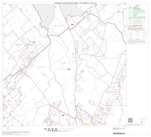 Primary view of object titled '2000 Census County Block Map: Caldwell County, Block 17'.