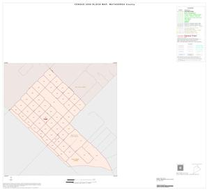 Primary view of object titled '2000 Census County Block Map: Matagorda County, Inset A01'.