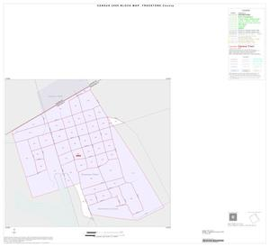 Primary view of object titled '2000 Census County Block Map: Freestone County, Inset A01'.