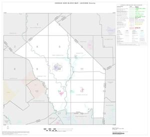 Primary view of object titled '2000 Census County Block Map: Jackson County, Index'.
