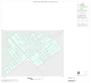 Primary view of object titled '2000 Census County Block Map: Victoria County, Inset G01'.