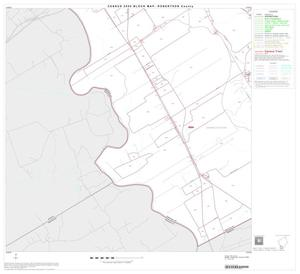 Primary view of object titled '2000 Census County Block Map: Robertson County, Block 16'.