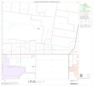 Primary view of object titled '2000 Census County Block Map: Cameron County, Block 18'.