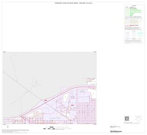 Primary view of object titled '2000 Census County Block Map: Pecos County, Inset H01'.