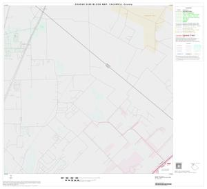 Primary view of object titled '2000 Census County Block Map: Caldwell County, Block 1'.