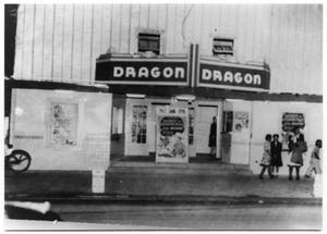 Primary view of object titled 'Front of the Dragon Theatre'.
