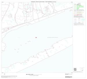 Primary view of object titled '2000 Census County Block Map: Matagorda County, Block 22'.