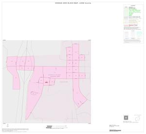 Primary view of object titled '2000 Census County Block Map: Leon County, Inset D01'.