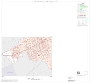 Primary view of object titled '2000 Census County Block Map: Uvalde County, Inset D03'.