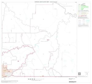 Primary view of object titled '2000 Census County Block Map: Clay County, Block 10'.