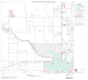 Primary view of object titled '2000 Census County Block Map: Randall County, Block 6'.