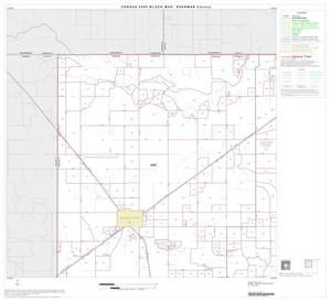 Primary view of object titled '2000 Census County Block Map: Sherman County, Block 1'.