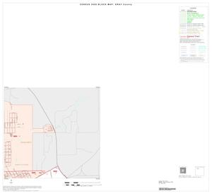 Primary view of object titled '2000 Census County Block Map: Gray County, Inset A02'.