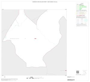 Primary view of object titled '2000 Census County Block Map: San Saba County, Inset B07'.
