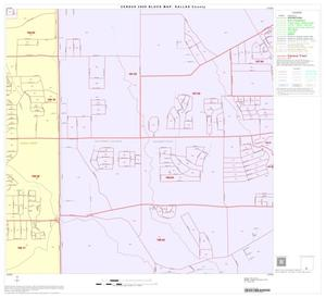 Primary view of object titled '2000 Census County Block Map: Dallas County, Block 85'.