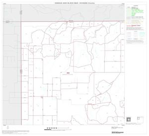 Primary view of object titled '2000 Census County Block Map: Dickens County, Block 1'.