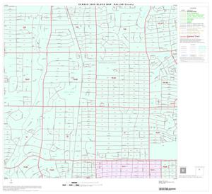 Primary view of object titled '2000 Census County Block Map: Dallas County, Block 25'.