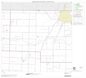 Primary view of object titled '2000 Census County Block Map: Jones County, Block 2'.