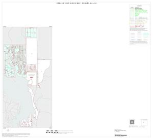 Primary view of object titled '2000 Census County Block Map: Donley County, Inset A01'.