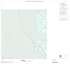 Primary view of object titled '2000 Census County Block Map: Wichita County, Inset E02'.