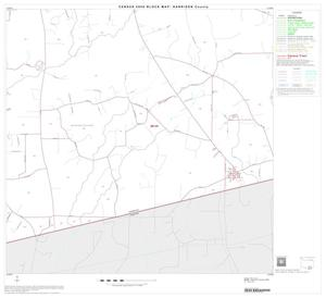 Primary view of object titled '2000 Census County Block Map: Harrison County, Block 19'.