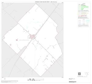 Primary view of object titled '2000 Census County Block Map: Lee County, Inset B01'.