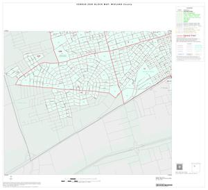 Primary view of object titled '2000 Census County Block Map: Midland County, Inset B03'.