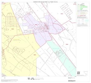 Primary view of object titled '2000 Census County Block Map: El Paso County, Block 69'.