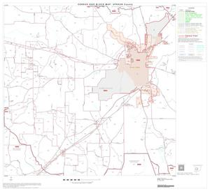 Primary view of object titled '2000 Census County Block Map: Upshur County, Block 6'.