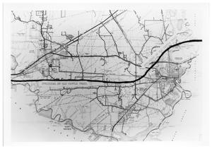 Primary view of object titled '[Cattle Trail across Orange County]'.