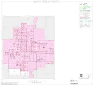 Primary view of object titled '2000 Census County Block Map: Haskell County, Inset E01'.