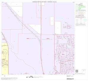 Primary view of object titled '2000 Census County Block Map: Tarrant County, Block 25'.
