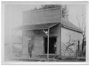Primary view of object titled '[Burton Store on Ninth and Burton]'.