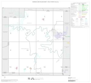 Primary view of object titled '2000 Census County Block Map: Palo Pinto County, Index'.