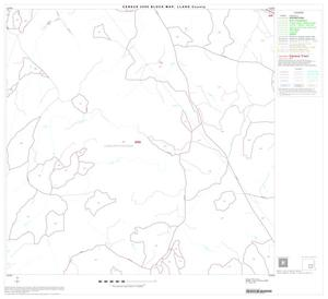 Primary view of object titled '2000 Census County Block Map: Llano County, Block 11'.