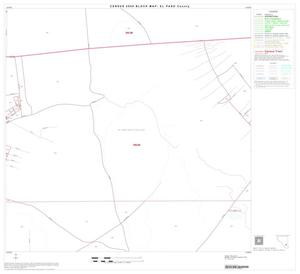 Primary view of object titled '2000 Census County Block Map: El Paso County, Block 71'.