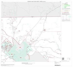 Primary view of object titled '2000 Census County Block Map: Kerr County, Block 9'.