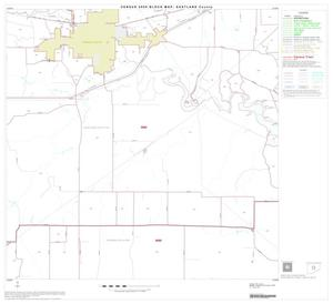 Primary view of object titled '2000 Census County Block Map: Eastland County, Block 8'.